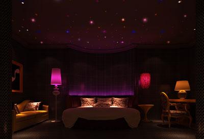 重庆星空之约情侣主题酒店设计方案效果图