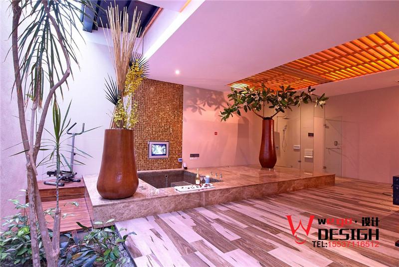 风格各异的台湾山月情侣旅馆客房设计方案