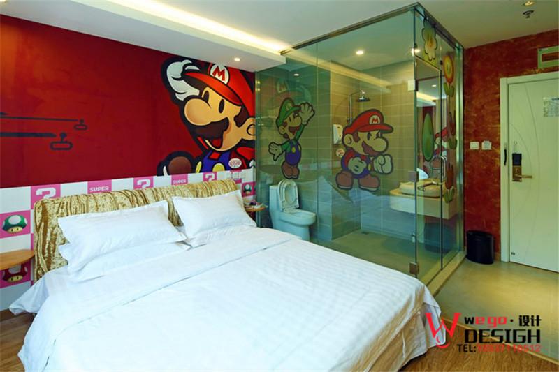 北京考拉动漫主题酒店设计效果图方案欣赏
