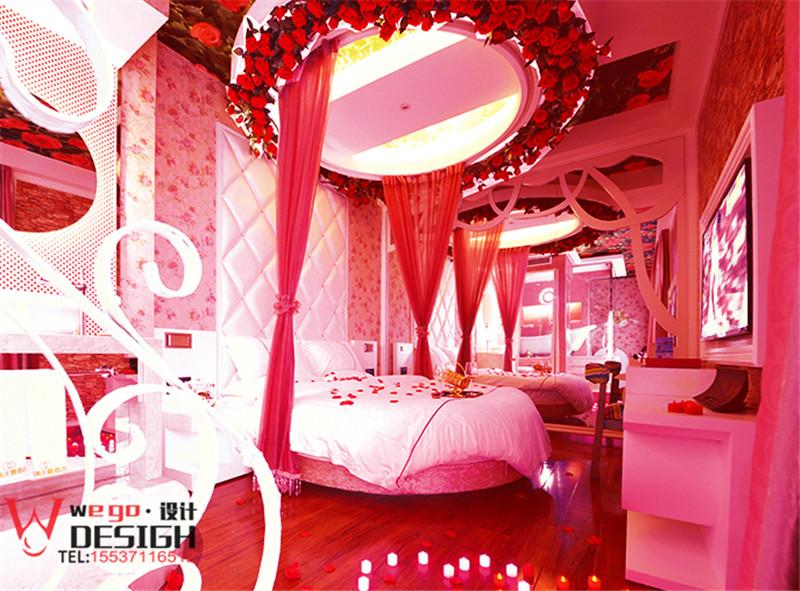 北京水晶情侣主题酒店设计