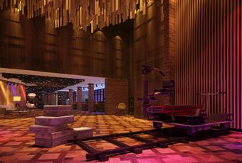 重庆花样年华电影主题酒店公共空间设计