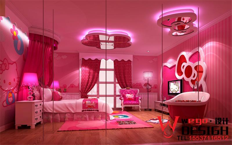 西双版纳天鹅恋情侣主题酒店装修设计方案