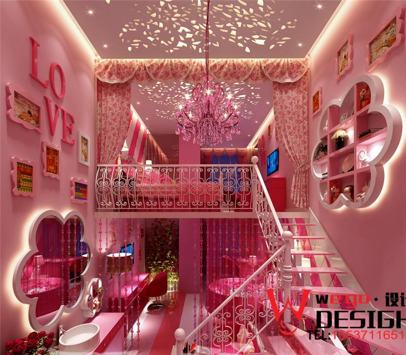 郑州万爱情侣酒店设计效果图