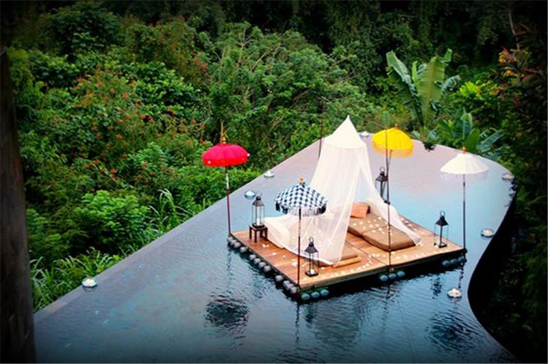 巴厘岛乌布空中花园酒店,印尼