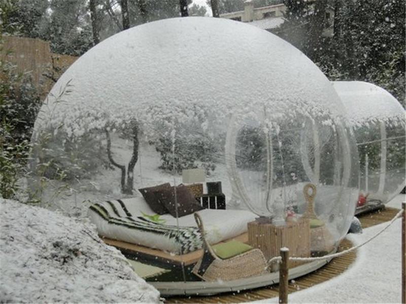 Attrap Reves气泡水晶球旅馆,法国