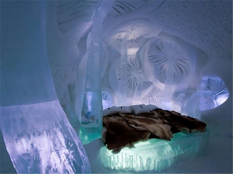 Jukkasjarvi冰雪酒店,瑞典