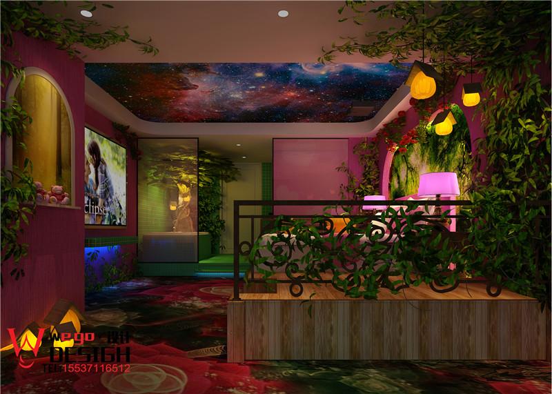 河北邯郸电影主题酒店设计-果美影咖主题酒店设计案例
