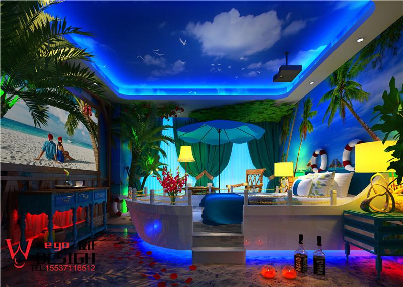 果美影咖主题酒店设计案例