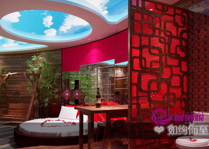 徐州茵薇妮情侣主题酒店设计-徐州创意主题酒店设计