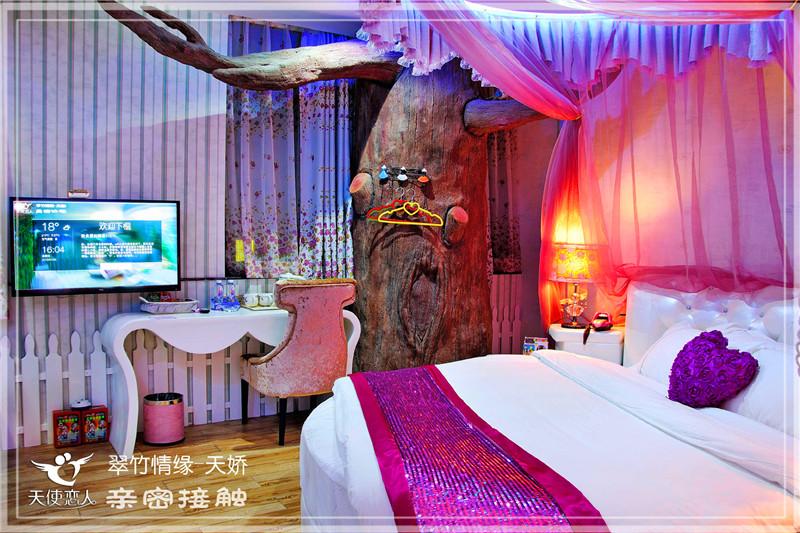深圳酒店天使设计-江西情趣恋人情趣酒店主题设计深圳主题酒店图片