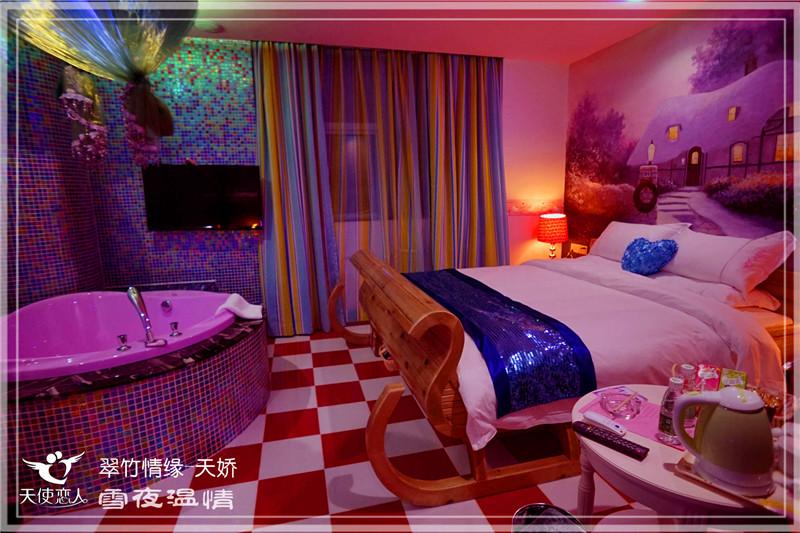 深圳主题酒店设计-深圳天使恋人情趣主题酒店设计