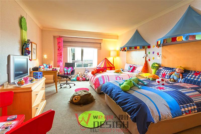 酒店儿童主题客房设计布置方案及效果图片
