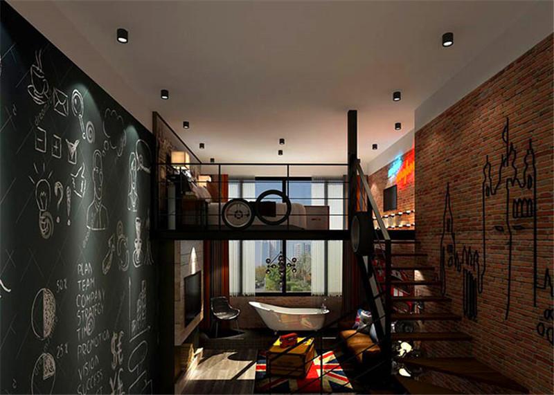 情侣主题酒店室内空间设计