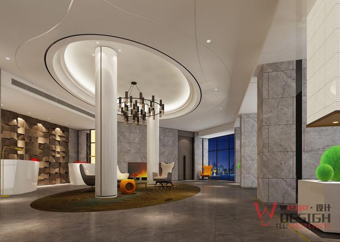 洛阳华尔晟酒店大厅设计
