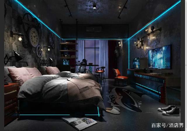 全国首家以电竞为主题的U+电竞智慧酒店设计大解密