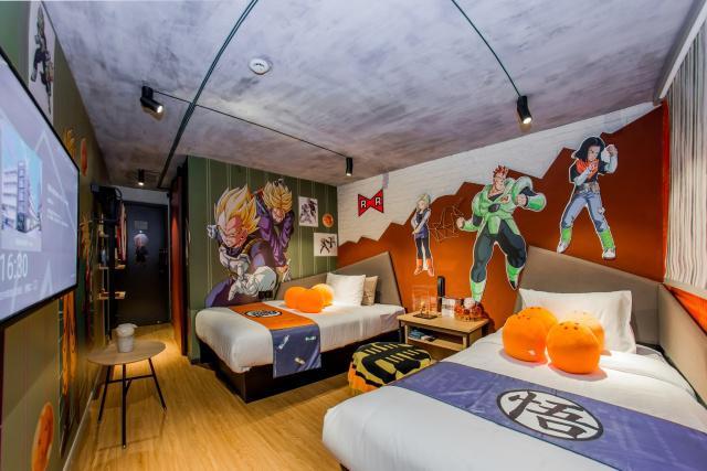 中国首家龙珠主题酒店客房设计曝光  和动漫酒店有啥不一样