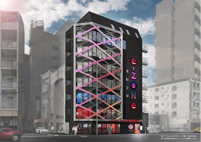 日本首家电竞主题酒店设计内景曝光  明年4月开业