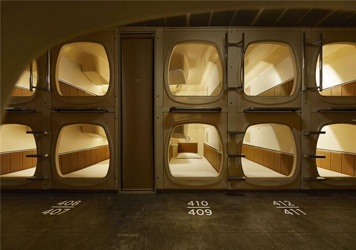 将空间用到极致  日本胶囊主题酒店设计方案赏析