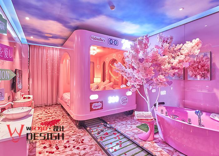 石家庄圆梦情侣主题酒店客房设计实景图