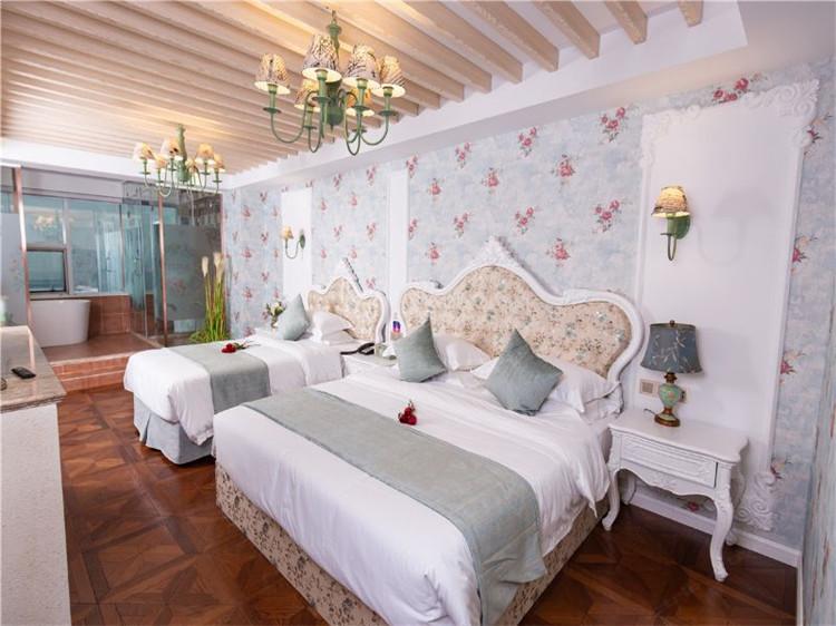 杭州玖久印象主题酒店设计体现智能智慧酒店特色