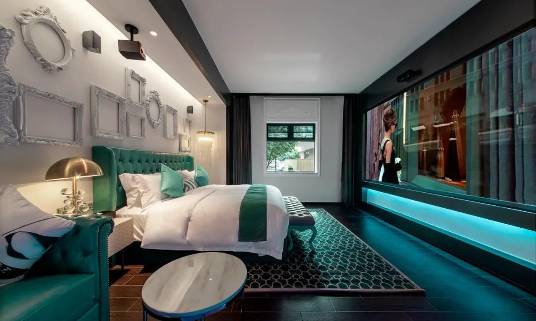杭州西湖殿影主题酒店设计