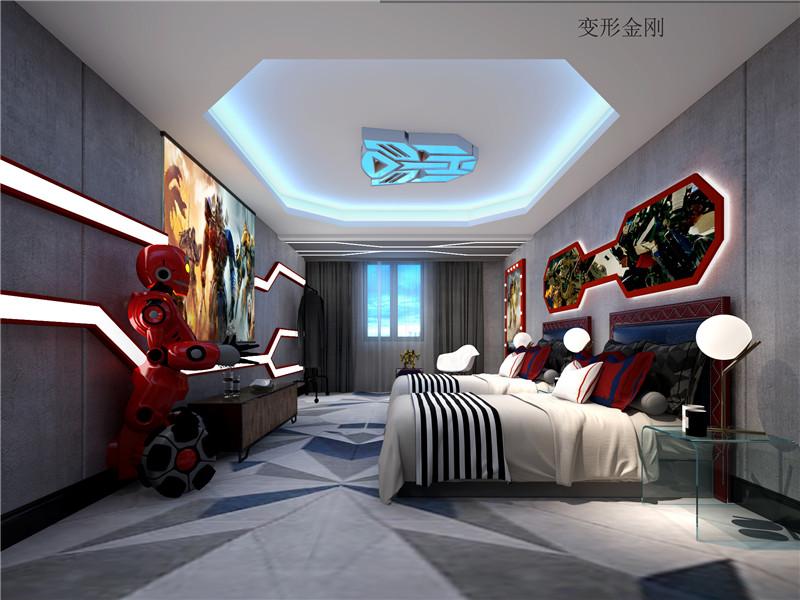 北京鑫岸电影主题酒店设计