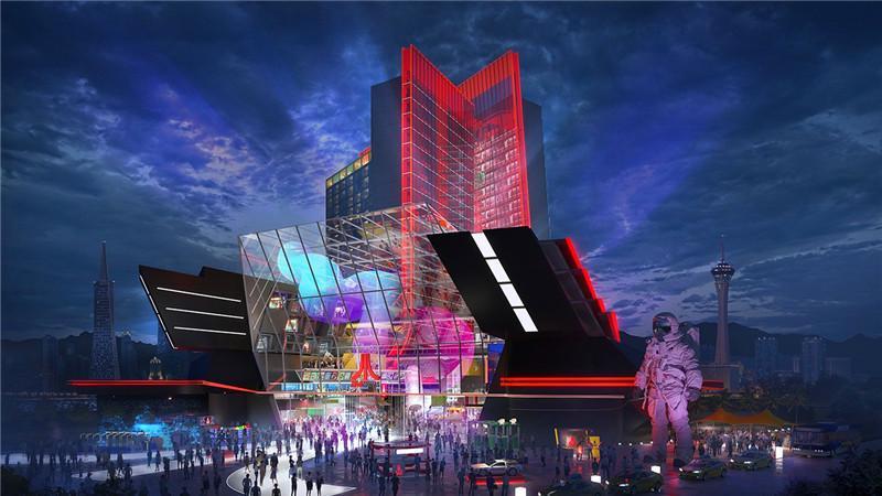 雅达利游戏主题酒店设计颇有赛博朋克风格