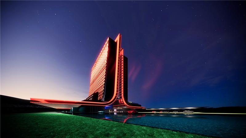 雅达利游戏主题酒店设计