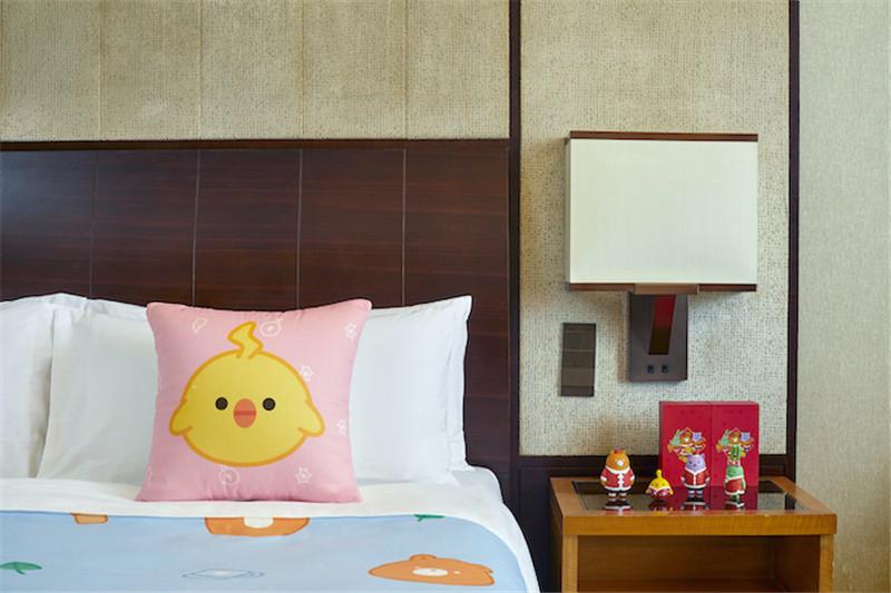 香格里拉集团旗下酒店游戏电竞主题客房设计
